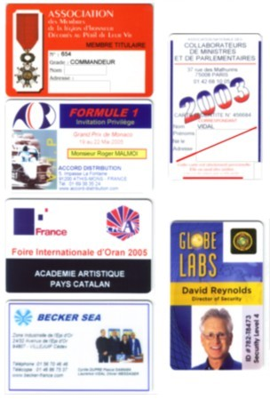 Fabriaction impression de cartes et badges