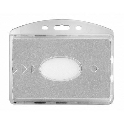 Porte Badges Rigide 2 Faces Avec Protection Rfid Le Lot De 100